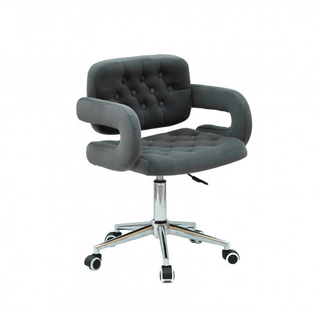 Кресло офисное Onder Mebli Gor Modern Office Бархат Серый В-1004