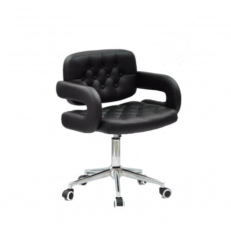 Кресло офисное Onder Mebli Gor Modern Office ЭкоКожа Черный