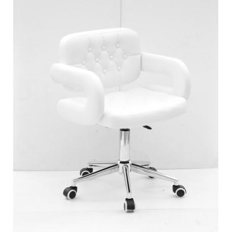 Кресло офисное Onder Mebli Gor Modern Office ЭкоКожа Белый