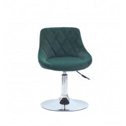 Кресло Onder Mebli Foro СH-Base Бархат Зеленый В-1003