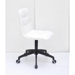 Кресло для оператора Onder Mebli Split BK-Modern Office ЭкоКожа Черный
