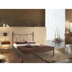Кровать двуспальная железная Луиза Металл-Дизайн