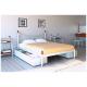 Кровать двуспальная без изножья Калипсо-2 Металл-Дизайн