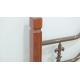 Кровать двухспальная Диана на деревянных ножках Металл-Дизайн