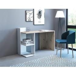 Стол письменный PACO PC 01 (120 см) дуб артисан/белый GF Furniture