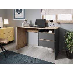 Стол письменный PACO PC 03 (125 см) дуб артизан/антрацит GF Furniture