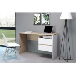Стол письменный PACO PC 03 (125 см) дуб артизан/белый GF Furniture