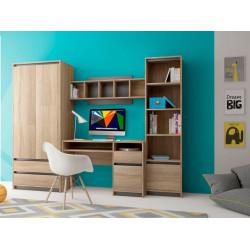 Детская стенка Madagaskar I дуб сонома/графит GF Furniture