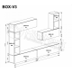 Мебельная стенка BOX V3 MiroMark