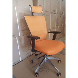 Кресло Dawn AL TILT orange Special4You Technostyle