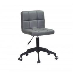 Кресло Onder Mebli Арно BK - Modern ЭкоКожа Серый 1001