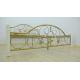 Кровать двухспальная Жозефина на деревянных ножках Металл-Дизайн