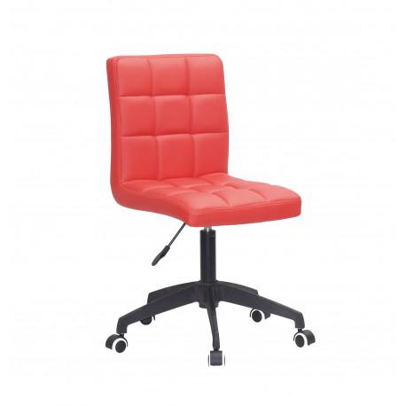 Кресло Onder Mebli Augusto BK Modern Base ЭкоКожа Красный 1007