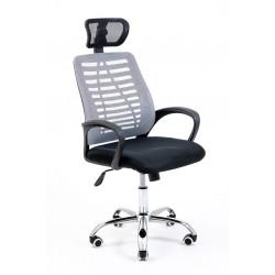 Кресло Бласт серая сетка CH Tilt Richman