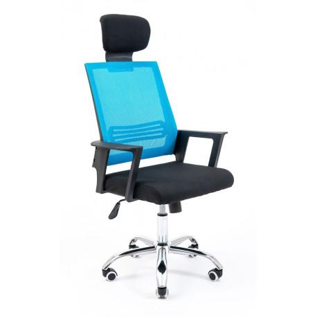 Кресло Стик синяя сетка CH Tilt Richman