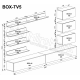 Мебельная стенка BOX TV-5 MiroMark