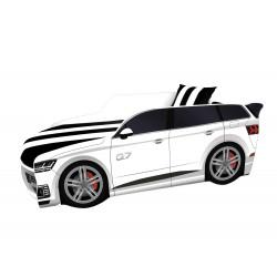 Кровать+матрас Viorina-Deko Premium Р003 Audi Q7 Белый