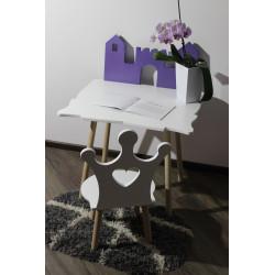 """Дитячий набір стіл + стілець """"Princess"""" Луна"""