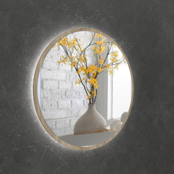Зеркало на основе ЛДСП с подсветкой Art-com ZL3 Дуб Сонома
