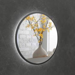 Зеркало на основе ЛДСП с подсветкой Art-com ZL3 Черное