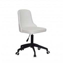 Кресло Onder Mebli Адам BK-Modern Office ЭкоКожа Белый