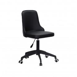 Кресло Onder Mebli Адам BK-Modern Office ЭкоКожа Черный