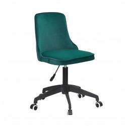 Кресло Onder Mebli Адам BK-Modern Office Бархат Зеленый В-1003