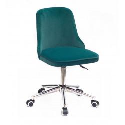 Кресло Onder Mebli Адам Modern Office Бархат Зеленый В-1003