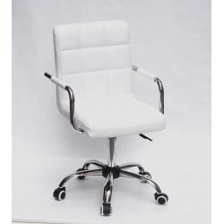 Кресло для персонала Onder Mebli Augusto Arm CH - Office Экокожа Белый