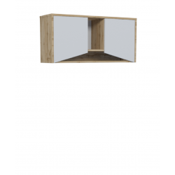 Полка с дверцами G 2D Unity Intarsio