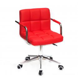 Кресло c подлокотниками Onder Mebli Арно Arm CH-Modern ЭкоКожа Красный 1007