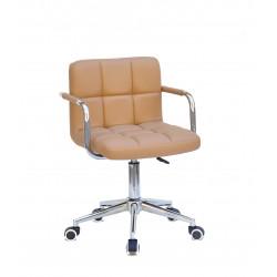 Кресло c подлокотниками Onder Mebli Арно Arm CH-Modern ЭкоКожа Бежевый 1009