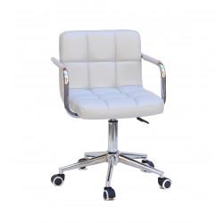Кресло c подлокотниками Onder Mebli Арно Arm CH-Modern ЭкоКожа Серый 1008