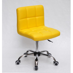 Кресло Onder Mebli Арно CH-Office Экокожа Желтый 1006