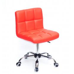 Кресло Onder Mebli Арно CH-Office Экокожа Красный 1007