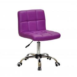 Кресло Onder Mebli Арно CH-Office Экокожа Пурпурный 1010