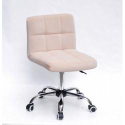 Кресло Onder Mebli Арно CH-Office Бархат Беж В-1005