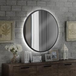 Зеркало на основе ЛДСП с подсветкой Art-com ZL2 Черный