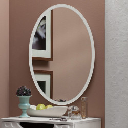 Дзеркало на основі ЛДСП Art-com ZN2 Білий