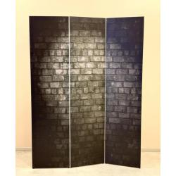 Ширма Кантри 180х135 Черная стена