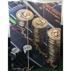 Ширма Кантрі 180х135 Монети
