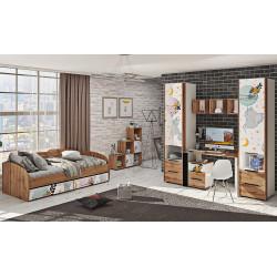Детская ДЧ-4125 Оксфорд Комфорт-мебель