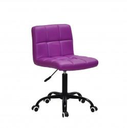 Кресло Onder Mebli Арно BK-Office Экокожа Пурпурный 1010