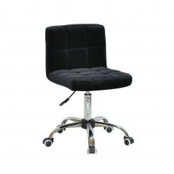 Кресло Onder Mebli Арно CH-Office Бархат Черный В-1011