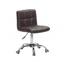 Кресло Onder Mebli Арно CH-Office Экокожа Коричневый 1015