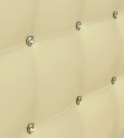 Кровать с мягким изголовьем Лидс Richman Стандарт Кожзам Флай 2213