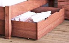 Ліжко дерев'яне без ізніжжя Верона-2 ТеМП