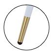 Стул мягкий М-99 белый кожзам Vetro Mebel