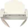 Стол ТМL-515 (140-180 см) матовый молочный Vetro Mebel