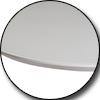 Стол круглый ТМL-651 (105-145 см) матовый белый Vetro Mebel